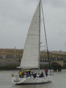 SeaLord arrivant à Nieuwpoort