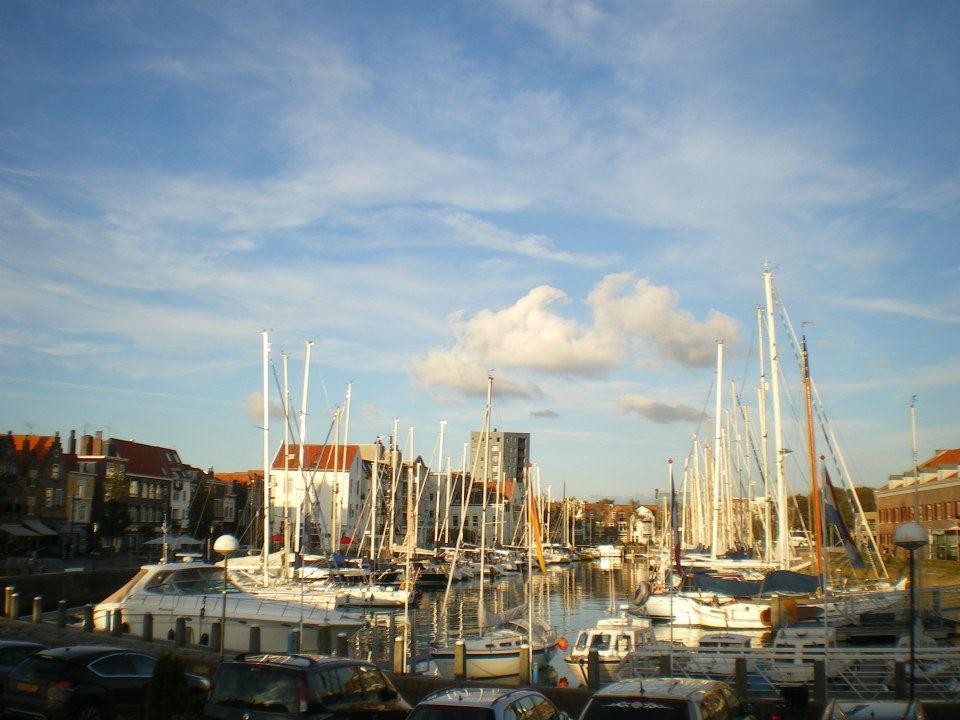 Port de Vlissingen au matin