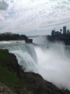 Chute du Niagara, vue depuis les Etats-Unis