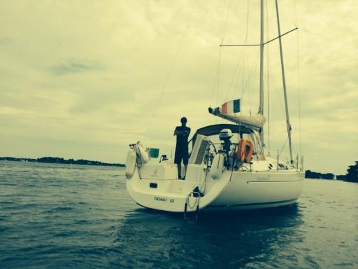 Oceanis 37 Tikehau & Benoit