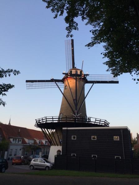 Moulin au centre-ville de Tholen