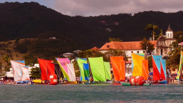 Courses de Yoles traditionnelles - Le Marin - Martinique