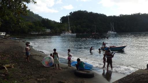 Walilabou Bay - Saint Vincent - lieu de tournage de Pirates des Caraibes