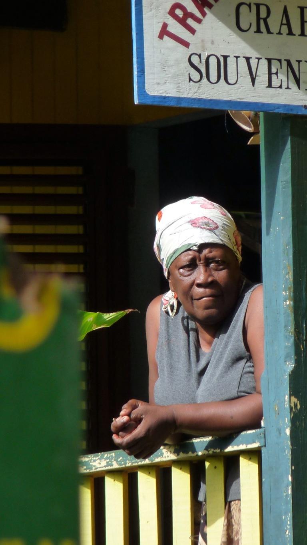 Saint Lucia Local Woman