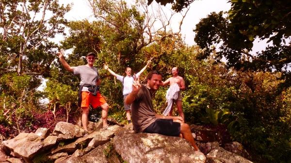 Au sommet du Gros Piton