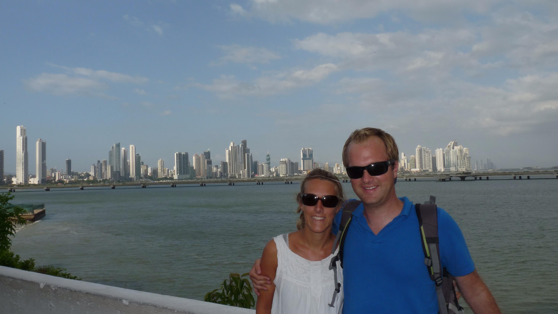 Mno et Mig - vue Panama City