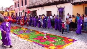 Procession à Antigua