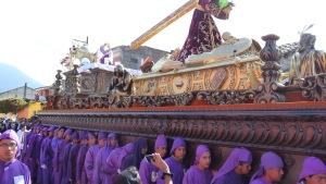 Procession de Pâques à Antigua