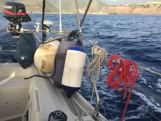 Parre-battages voilier