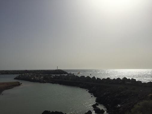 Entrée Port de San Miguel - Tenerife